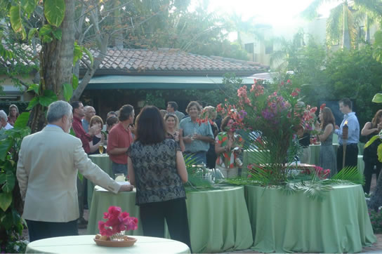 Image: A corporate meeting concludes at Hotel Escalante in Naples, FL