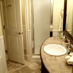 Image: 2 bedroom villa suite bathroom, photo #2 at Hotel Escalante, Naples, FL