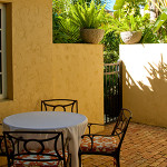 Image: 2 bedroom villa suite patio, photo #1 at Hotel Escalante, Naples, FL